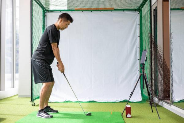 ゴルフスイングトレーニング