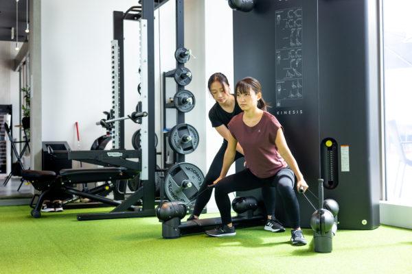 トレーナーとトレーニング